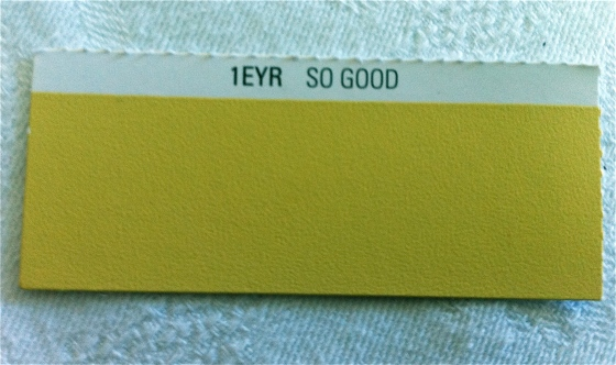 'So Good': one of 300 colours in the Midas Envirolite Zero VOC paint range - from Paint&Place stores