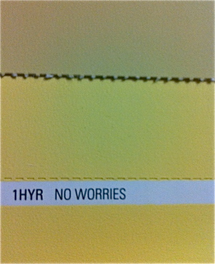 'No Worries' - from the Midas Envirolite eco-wise paint range